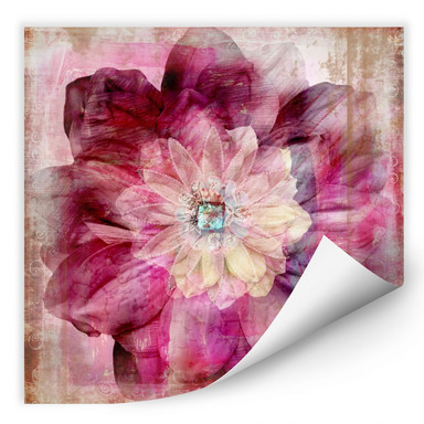 Wallprint Pink Peony