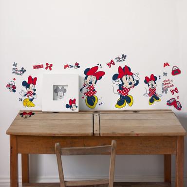 Wandsticker-Set Minnie Mouse 52-teilig - Bild 1
