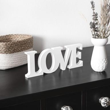 Dekobuchstaben 3D Love 2