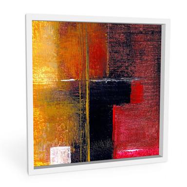 Hartschaumbild Niksic - Moderne Kunst