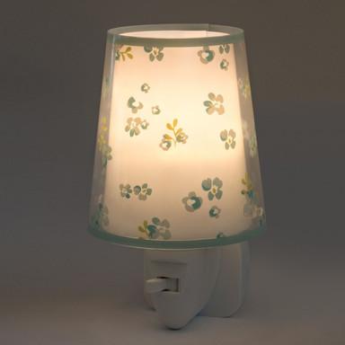 Kinderzimmer LED Nachtlicht Dream Flowers in Grün E14