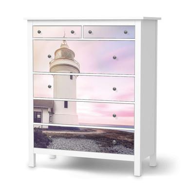 Klebefolie IKEA Hemnes Kommode 6 Schubladen - Lighthouse- Bild 1