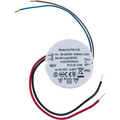 LED Vorschaltgerät 9W 350mA 170mm Anschlusskabel