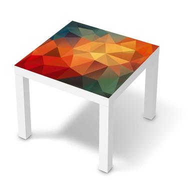 Möbelfolie IKEA Lack Tisch 55x55cm - Polygon