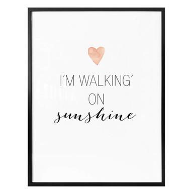 Poster Confetti & Cream - I'm walking on sunshine