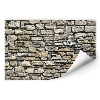Wallprint Natursteinmauer