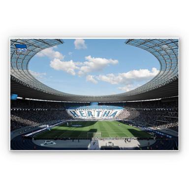 Wandbild Hertha BSC - Stadion am Tag
