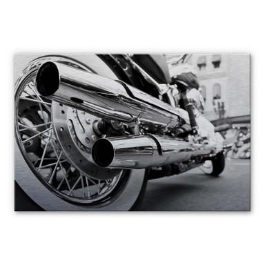 Alu Dibond Bild Motorcycle Power