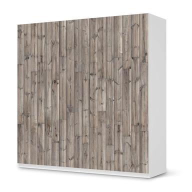 Klebefolie IKEA Pax Schrank 201cm Höhe - 4 Türen - Dark washed- Bild 1