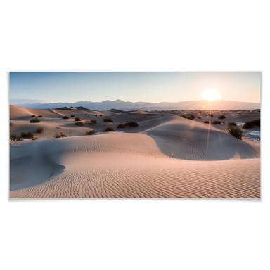 Poster Colombo - Die Wüste von Death Valley - Panorama