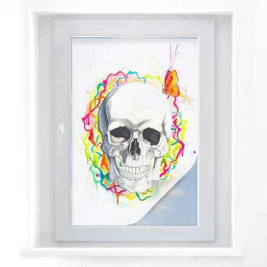 Sichtschutzfolie Buttafly - Skull
