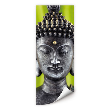 Wallprint Green Buddha - Panorama