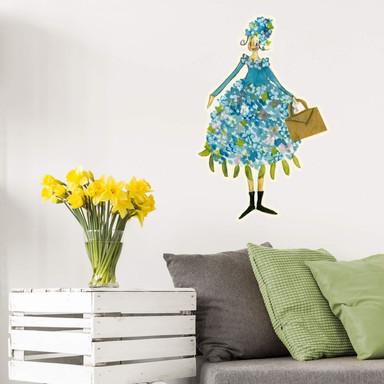 Wandtattoo Leffler - Blütenelfe Juni