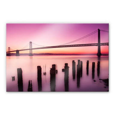 Acrylglasbild XXL San Francisco Bay