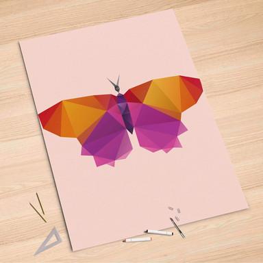 Folienbogen (100x150cm) - Origami Butterfly