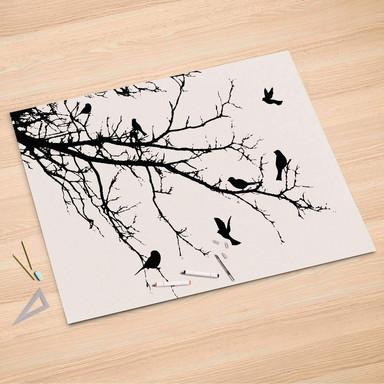 Folienbogen (150x100cm) - Tree and Birds 1