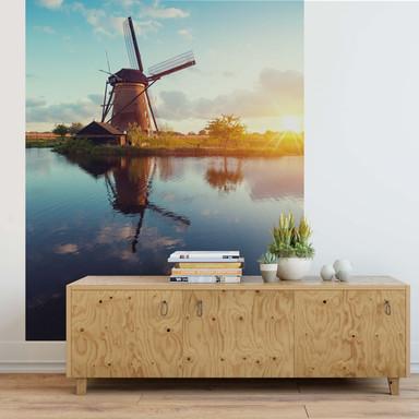 Fototapete Holländische Windmühle