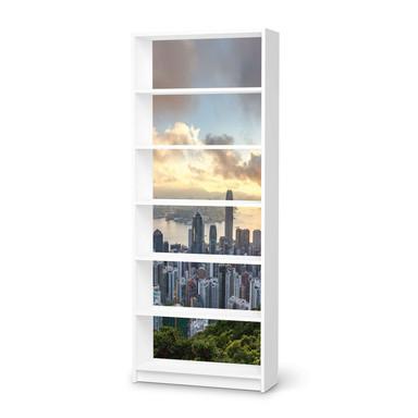 Klebefolie IKEA Billy Regal 6 Fächer - Hong Kong- Bild 1