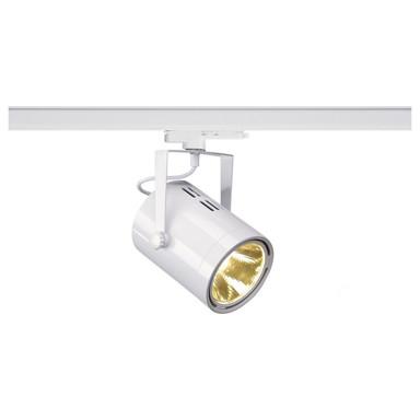 LED 3-Phasenschienen Spot 47W 4800lm 3000K 15° in Weiss