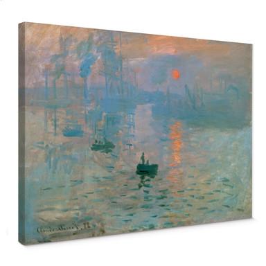 Leinwandbild Monet - Impression