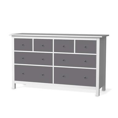Möbelfolie IKEA Hemnes Kommode 8 Schubladen - Grau Light