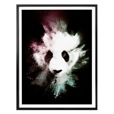 Poster Hugonnard - Wild Explosion: Panda
