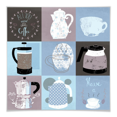 Poster Loske - Coffee Time
