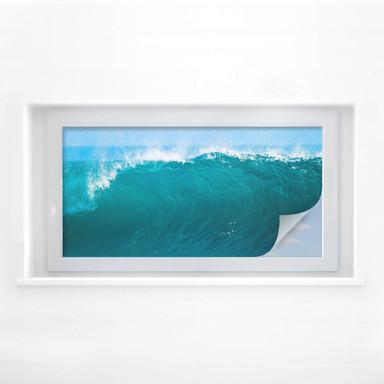 Sichtschutzfolie Perfect Wave - Panorama