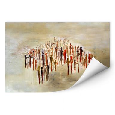 Wallprint Melz - People 02