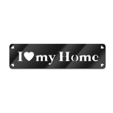Acryl-Anhänger I love my home