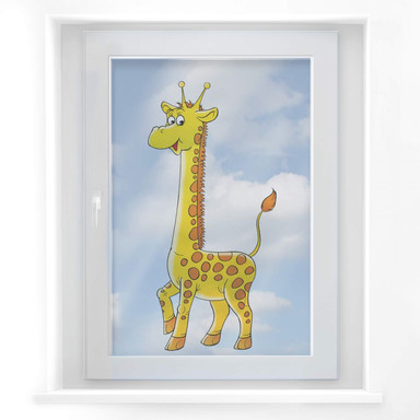Fensterbild Giraffe 1