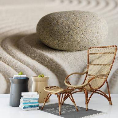 Fototapete Stone in Sand - 384x260cm - Bild 1