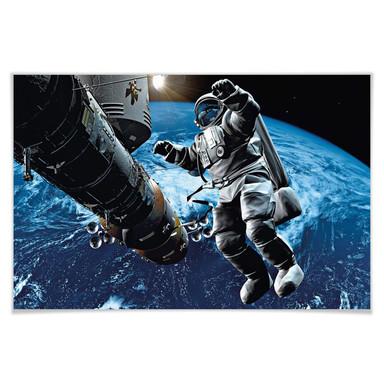 Giant Art® XXL-Poster Space Cowboy - 175x115cm