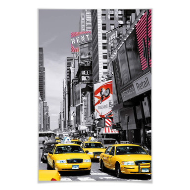 Giant Art® XXL-Poster Times Square II - 115x175cm
