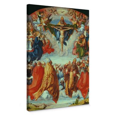 Leinwandbild Dürer - Das Allerheiligenbild
