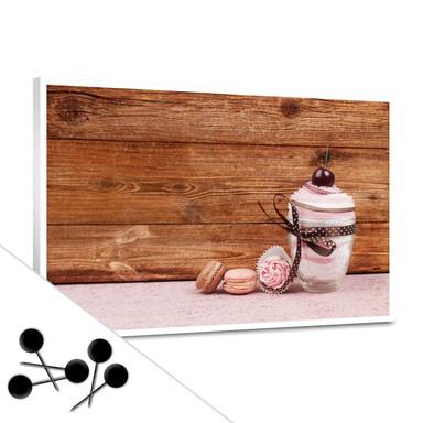 Pinwand Sweet Dessert inkl. 5 Pinnadeln