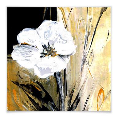 Poster Niksic - Modern Flower
