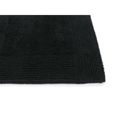 Prestige Badteppich | WC-Vorleger halbrund mit Ausschnitt | 60x60cm | 15 - Schwarz - Bild 1