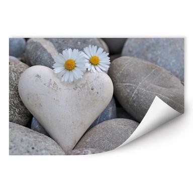 Wallprint Liebesblumen
