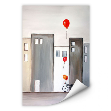 Wallprint Melz - Der Ballonverkäufer