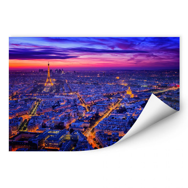 Wallprint Miguel - Paris bei Nacht