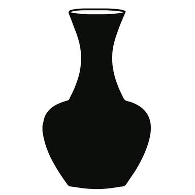 Wandtattoo Vase 2