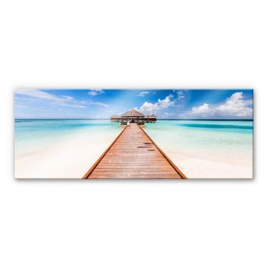 Acrylglasbild Colombo - Der Weg ins Paradies