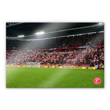 Acrylglasbild Fortuna Fans