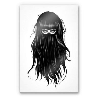 Acrylglasbild Ireland - It-Girl