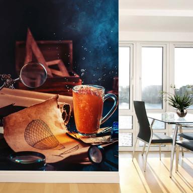 Fototapete Belenko - Steampunk Tea 02 - 192x260cm - Bild 1