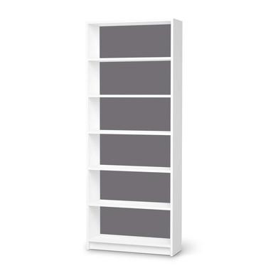 Klebefolie IKEA Billy Regal 6 Fächer - Grau Light- Bild 1