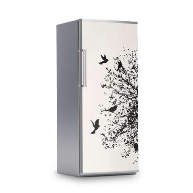 Kühlschrankfolie 60x150cm - Tree and Birds 2- Bild 1