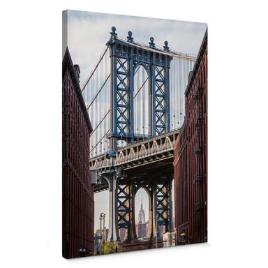 Leinwandbild Colombo - Brooklyn Bridge
