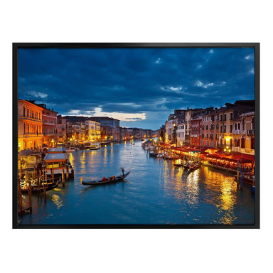 Poster Canal Grande in Venedig